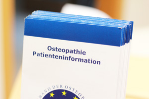 Osteopathie Patienteninformation